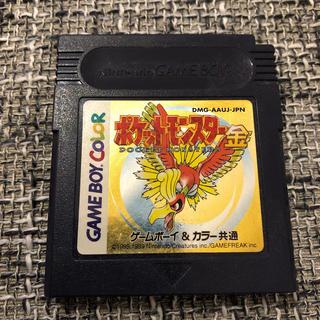 ニンテンドウ(任天堂)のゲームボーイソフト ポケットモンスター 金(携帯用ゲームソフト)