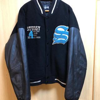 STUSSY - stussy  ステューシー98年限定 スタジャン