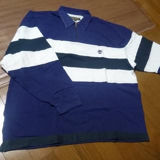 ティンバーランド(Timberland)のティンバーランド ポロシャツ ラガーシャツ(Tシャツ/カットソー(七分/長袖))