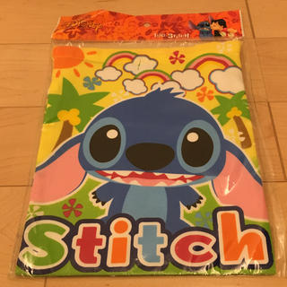 ディズニー(Disney)のDisney Stitch 巾着袋(体操着入れ)