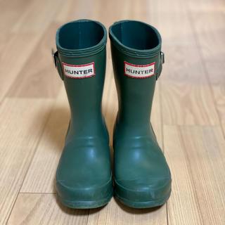ハンター(HUNTER)のHUNTER レインブーツ 長靴 UK9 16.5㎝(長靴/レインシューズ)