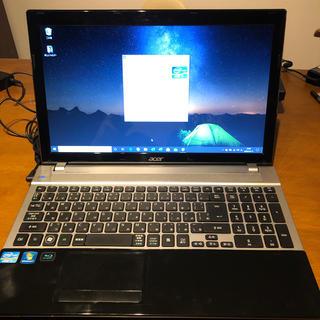 エイサー(Acer)のAcer Aspire V3-571-H54DK SSD240GB i7(ノートPC)