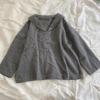 ネストローブ(nest Robe)のネストローブ セーラーカラー プルオーバー ウール素材(ニット/セーター)