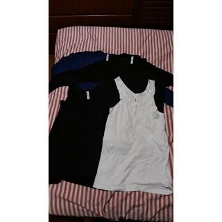 アタッチメント(ATTACHIMENT)のATTACHMENT 長袖Tシャツ&タンクトップ 計4枚 サイズ1(Tシャツ/カットソー(七分/長袖))