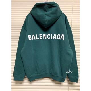 新品【 Balenciaga 】Logo Hoodie バレンシアガ M