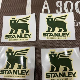 スタンレー(Stanley)のスタンレー 非売品ステッカー 4枚セット(しおり/ステッカー)