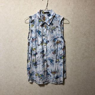 ルシェルブルー(LE CIEL BLEU)のLE CIEL BLEU プリントシャツ(シャツ/ブラウス(半袖/袖なし))