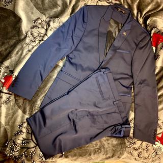 ザラ(ZARA)のZARA セットアップ スーツ ジャケット ネイビー(セットアップ)