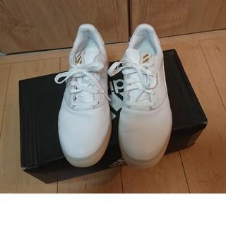 アディダス(adidas)のアディダスゴルフシューズ メンズ レトロ EE9162 2020年2月モデル (その他)