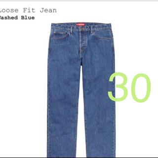 シュプリーム(Supreme)のsupreme loose fit jean S 30(デニム/ジーンズ)