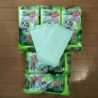 【もっちゃん専用】またまたお値引き【おまけ付き】デオトイレ(1週間用×50枚)(猫)