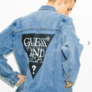ゲス(GUESS)のGUESS × WIND AND SEA デニムジャケット (Gジャン/デニムジャケット)