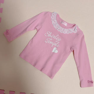 シャーリーテンプル(Shirley Temple)のレース襟カットソー シャーリーテンプル(Tシャツ/カットソー)