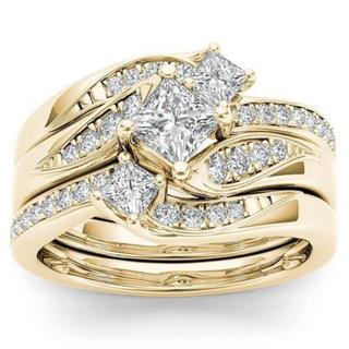 【【交渉中】】ゴールド リング3本 ワンセット 指輪(リング(指輪))