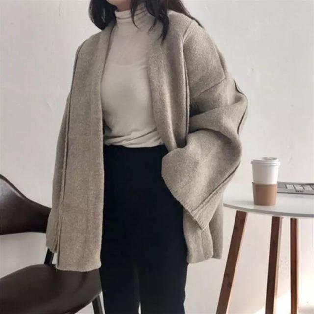 TODAYFUL(トゥデイフル)のselect MOCA MAISON DE THERESE ニットコート レディースのジャケット/アウター(ニットコート)の商品写真