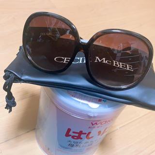 セシルマクビー(CECIL McBEE)のCECIL Mc BEE サングラス ブラウン(サングラス/メガネ)