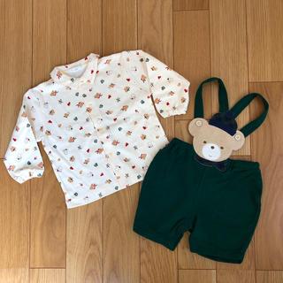 アザー(other)のpiccolo ピッコロ ベビー服 上下セット 90cm 未使用(Tシャツ/カットソー)
