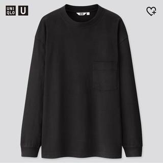 ユニクロ(UNIQLO)のUNIQLO U クルーネックT(Tシャツ/カットソー(七分/長袖))