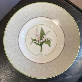 クリスチャンディオール(Christian Dior)の新品★クリスチャンディオール お皿 スズラン柄(食器)