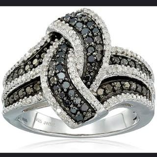 指輪  リング ブラックサファイア 22(リング(指輪))