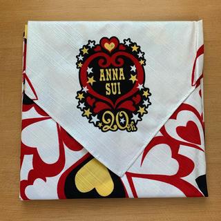 アナスイ(ANNA SUI)のANNA SUI 20周年 バンダナ スカーフ 新品未使用 即購入可(バンダナ/スカーフ)