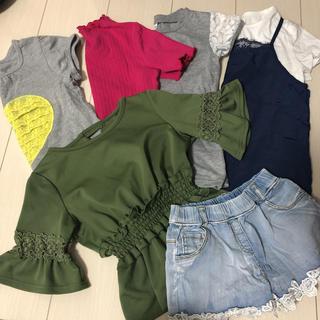 グローバルワーク(GLOBAL WORK)の女の子♡7点セット 春夏服 120 まとめ売り(その他)