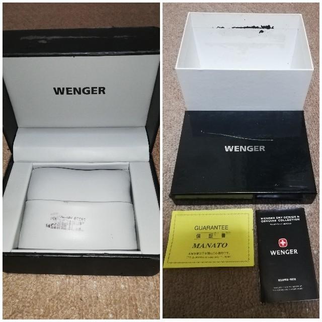 Wenger(ウェンガー)のWENGER オートマチッククロノグラフ 78229 ETAバルジュー搭載モデル メンズの時計(腕時計(アナログ))の商品写真