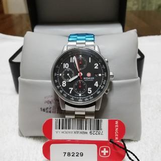 ウェンガー(Wenger)のWENGER オートマチッククロノグラフ 78229 ETAバルジュー搭載モデル(腕時計(アナログ))