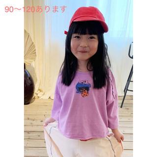 クッキーモンスターTシャツ 80〜120サイズ (Tシャツ/カットソー)