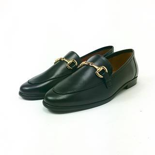 イエナスローブ(IENA SLOBE)のMARION TOUFET ビットローファー 黒 23.5cm 4804597(ローファー/革靴)