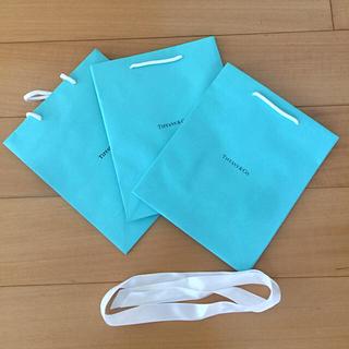 ティファニー(Tiffany & Co.)のティファニー 未使用 ショッパー 美品 リボン付(ショップ袋)