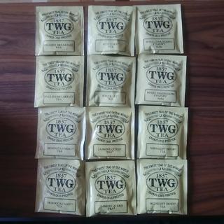 紅茶 TWG ティーパック12袋(茶)
