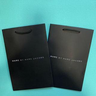 マークバイマークジェイコブス(MARC BY MARC JACOBS)のMARC JACOBS ショップ袋2枚(ショップ袋)