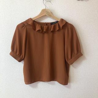 ダブルクローゼット(w closet)のw closet シアトップス(シャツ/ブラウス(半袖/袖なし))