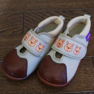 fukuske - 未使用‼️プーさんの靴⭐️サイズ14cm⭐️FUKUSUKE