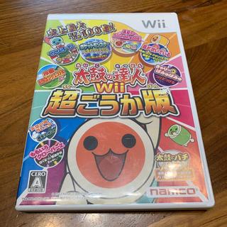 バンダイナムコエンターテインメント(BANDAI NAMCO Entertainment)の太鼓の達人Wii 超ごうか版 Wii(家庭用ゲームソフト)