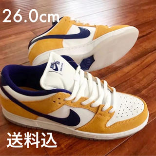 ナイキ(NIKE)のNIKE SB Dunk Low  LASER ORANGE  26.0cm(スニーカー)