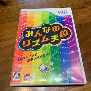 ニンテンドウ(任天堂)のみんなのリズム天国 Wii(家庭用ゲームソフト)