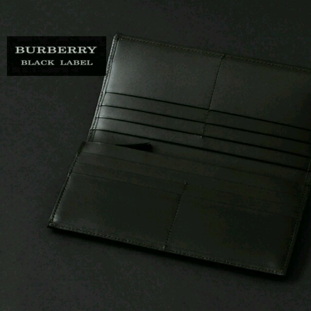 88c4054ae767 BURBERRY(バーバリー)のバーバリーブラックレーベル長財布加工完売 メンズのファッション小物