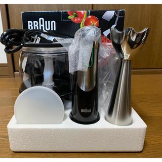 ブラウン(BRAUN)のブラウン BRAUN マルチクイック7 ハンドブレンダー [MQ735] (調理機器)