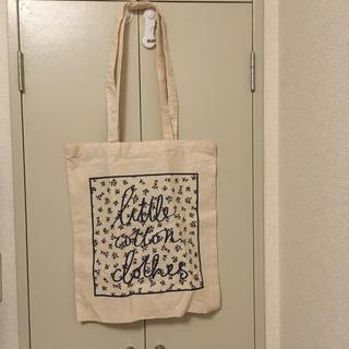 キャラメルベビー&チャイルド(Caramel baby&child )のlittle cotton clothes エコバッグ 未使用品(トートバッグ)