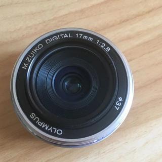 オリンパス(OLYMPUS)の単焦点レンズ❤️オリンパス M.ZUIKO 17mm 1:2.8 (レンズ(単焦点))