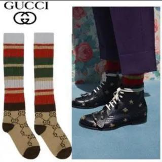 グッチ(Gucci)のグッチ GUCCI 靴下 モノグラムソックス(ソックス)