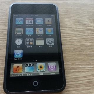 アイポッドタッチ(iPod touch)のiPod touch 16GB ブラック  第1世代 PA627J(ポータブルプレーヤー)