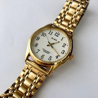アルバ(ALBA)のALBA メンズクォーツ腕時計 電池あり 蓄光機能あり(腕時計(アナログ))