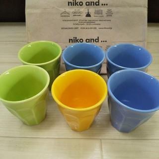 ニコアンド(niko and...)のniko and... 陶器コップ 6個セット(グラス/カップ)