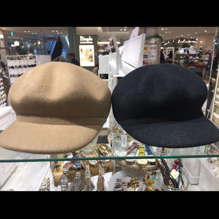 帽子(ハンチング/ベレー帽)