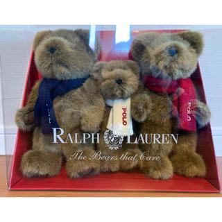 ポロラルフローレン(POLO RALPH LAUREN)のRalph Lauren Polo Bear(3ショットベア)(ぬいぐるみ)