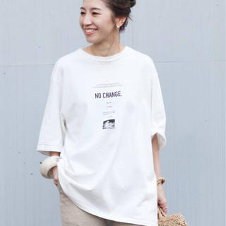 プラージュ(Plage)の新品 プラージュ ジェーンスミス NO CHANGE S/SL2 Tシャツ(Tシャツ/カットソー(半袖/袖なし))