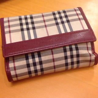 バーバリー(BURBERRY)のバーバリー折りたたみ財布(折り財布)